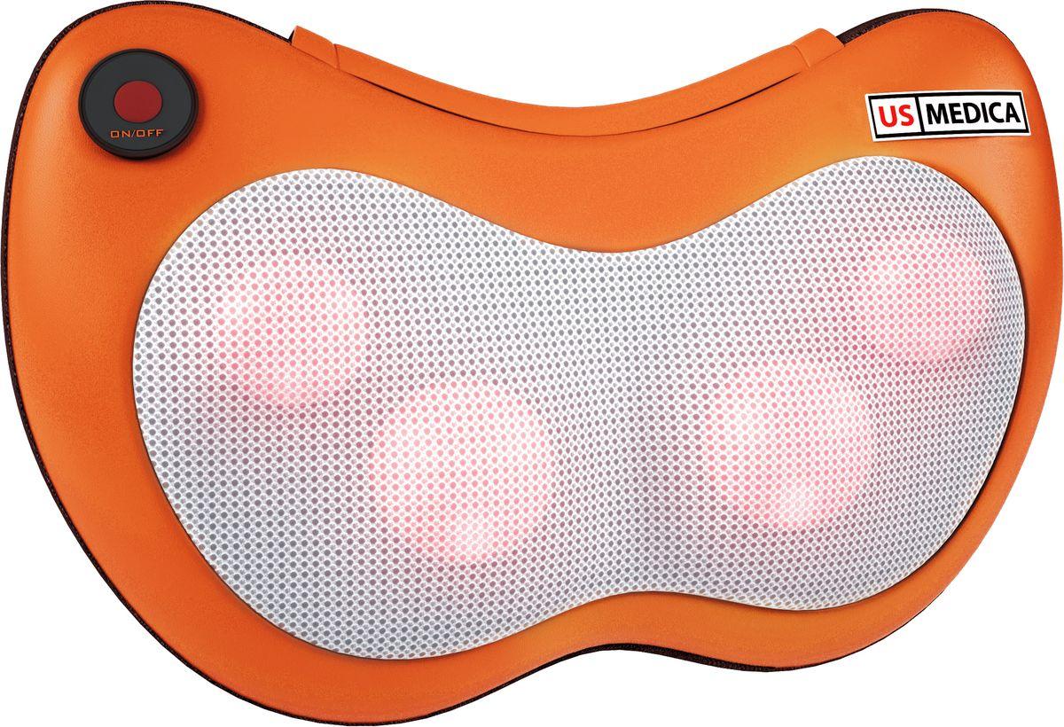US Medica Массажная подушка Apple SMP-70 (оранжевая) - Массажная техника