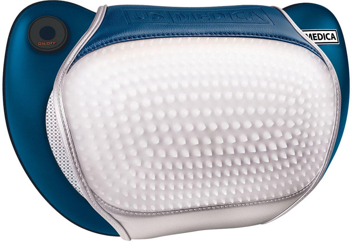 US Medica Массажная подушка Apple Plus (синяя) - Массажеры и массажные столы