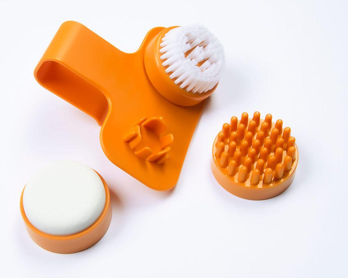 US MedicaГидромассажная ванна для ног Happy Feet (белый/оранжевый)