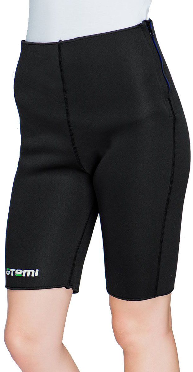 Шорты для похудения  Atemi , цвет: черный. ASS-02. Размер S/M - Одежда