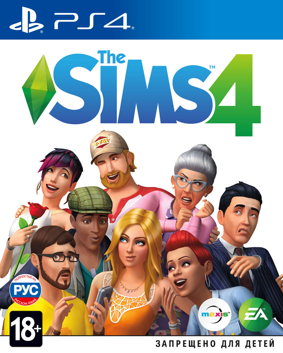 Zakazat.ru The Sims 4 (PS4)