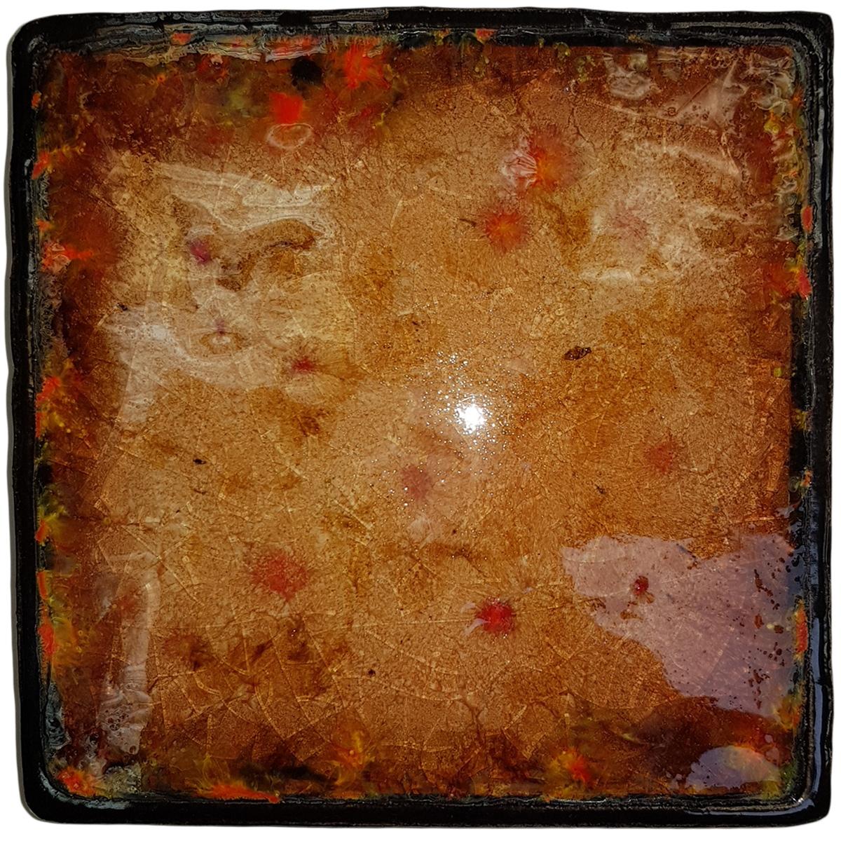 Керамическое панно ZORA Витражная мозаика, 15,2 х 15 см. Авторская работа. ZS-PL-SM5ZS-PL-SM5Керамическое панно ZORA Витражная мозаика, размер: 15,2х15 см. Авторская работа.Товар может быть использован как панно, подставка под горячее, плитка для украшения уличных мангалов и беседки.Цветное стекло, три обжига, шамот.