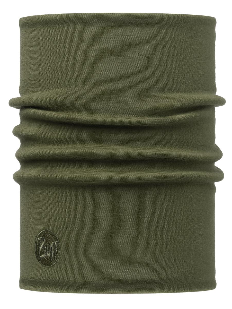 Шарф Buff Merino Wool Thermal Solid Cedar, цвет: хаки. 113018.847.10.00. Размер универсальный113018.847.10.00Buff - это оригинальные, мультифункциональные, бесшовные головные уборы - удобные и комфортные для любого вида активного отдыха и спорта. Оригинальные, потому что Buff был и является первым в мире брендом мультифункциональных, бесшовных и универсальных головных уборов. Мультифункциональные, потому что их можно носить самыми разными способами: как шарф, как шапку, как балаклаву, косынку, бандану, маску, напульсник и многими другими - решает ваша фантазия! Универсальный головной убор, который можно носить более чем двенадцатью способами, который можно использовать при занятии любым видом спорта, езде на велосипеде и мотоцикле, катаясь или бегая на лыжах, и даже как аксессуар в городской одежде. Бесшовные, благодаря эластичности, позволяющей использовать эти головные уборы как угодно и не беспокоиться о том, что кожа может быть натерта или раздражена швами.