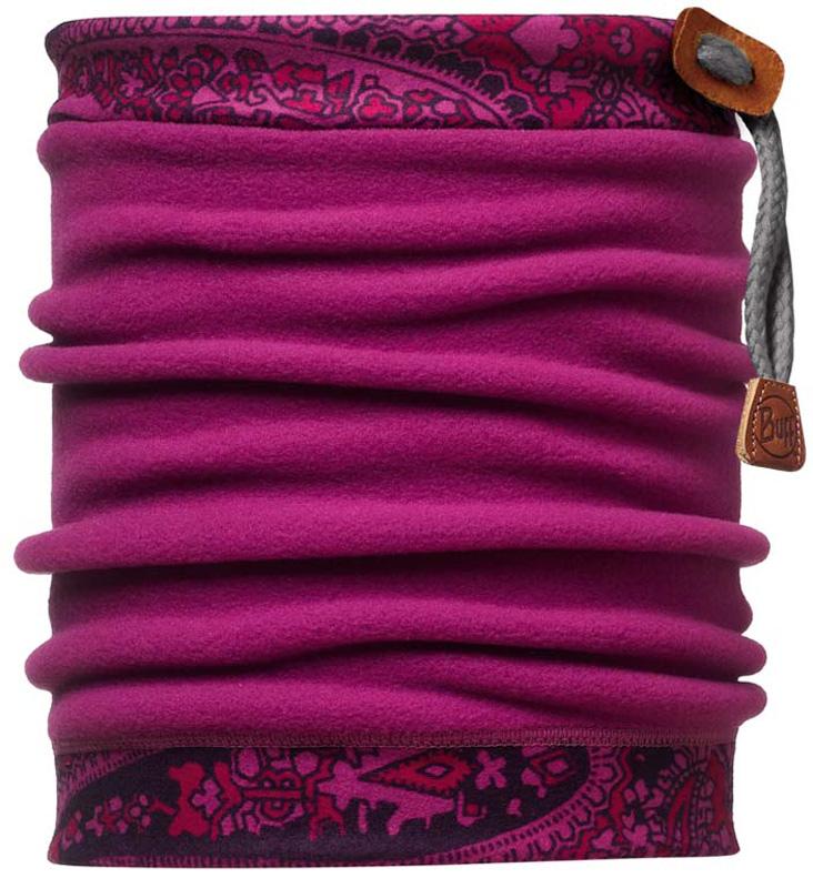 Шарф Buff Neckwarmer Polar Tamil / Mardi Grape Polartec, цвет: фиолетовый. 105561.00. Размер универсальный105561.00Теплая бандана-шарф Polar Buff из серии Original Buff. В холодную погоду Polar Buff поддерживает нормальную температуру тела и предотвращает потерю тепла, благодаря комбинации микрофибры и Polartec. Благодаря своей универсальности, функциональности и практичности Polar Buff завоевал огромную популярность среди людей, ее можно использовать как шапку, шарф, бандану на лицо и уши, балаклаву, маску. Неотъемлемая часть зимней одежды, подходит для любой активности в холодное время года. Размер (обхват головы): 53-62 см.