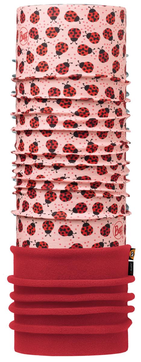 Шарф Buff Polar Child Ladybugs Multi / Samba, цвет: красный. 113423.555.10.00. Размер универсальный113423.555.10.00В холодную погоду шарф Polar Buff поддерживает нормальную температуру тела и предотвращает потерю тепла, благодаря комбинации микрофибры и Polartec. Благодаря своей универсальности, функциональности и практичности Polar Buff завоевал огромную популярность среди людей, ее можно использовать как шапку, шарф, бандану на лицо и уши, балаклаву, маску. Неотъемлемая часть зимней одежды, подходит для любой активности в холодное время года.