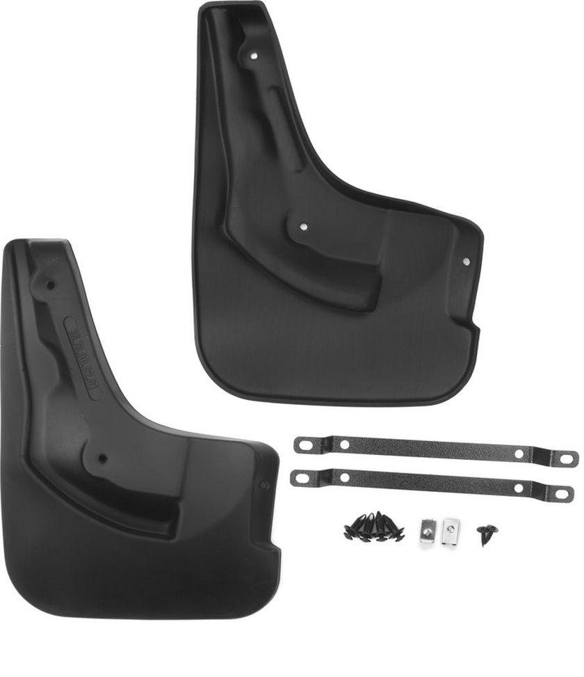 Комплект задних брызговиков Novline-Autofamily, для Ford Focus 3, 2015->, седан, 2 штNLF.16.73.E11Брызговики служат для защиты нижней части кузова от воды, грязи, камней, песка во время движения автомобиля. С эстетической точки зрения брызговики являются завершением колесной арки, они подчеркивают красоту и изящество форм автомобиля. Основные требования, которым должны соответствовать брызговики - гибкость и прочность. Изделия, производимые на основе пластика (полиуретановые брызговики), обладают высоким показателям прочности, экологичности, а также, устойчивостью к температурным колебаниям.