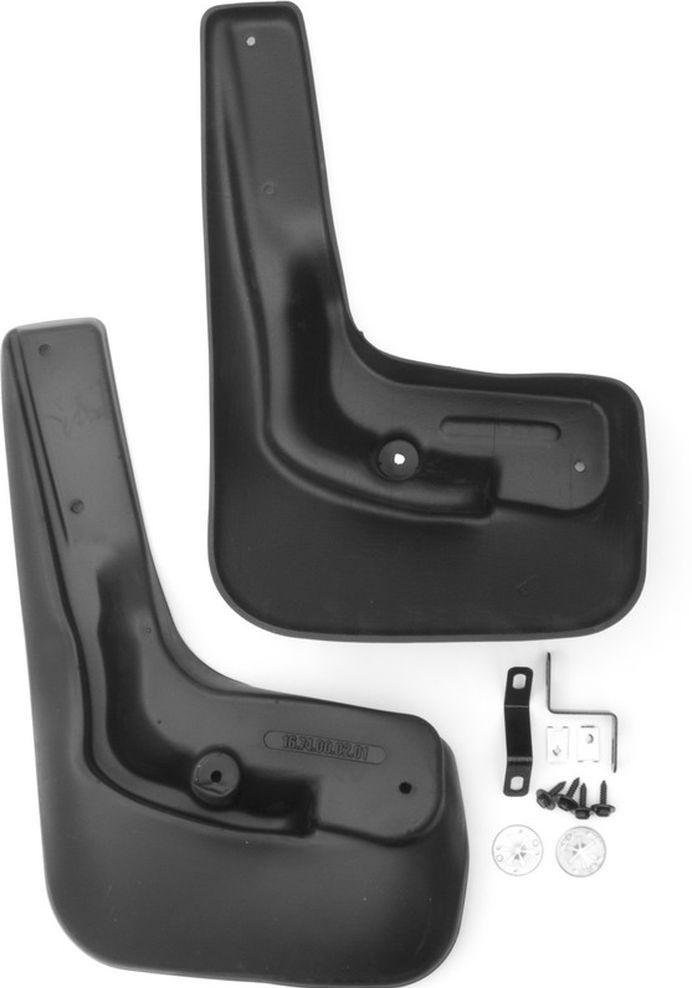 Комплект задних брызговиков Novline-Autofamily, для Ford Focus 3, 2015->, универсал, 2 штNLF.16.74.E11Брызговики служат для защиты нижней части кузова от воды, грязи, камней, песка во время движения автомобиля. С эстетической точки зрения брызговики являются завершением колесной арки, они подчеркивают красоту и изящество форм автомобиля. Основные требования, которым должны соответствовать брызговики - гибкость и прочность. Изделия, производимые на основе пластика (полиуретановые брызговики), обладают высоким показателям прочности, экологичности, а также, устойчивостью к температурным колебаниям.