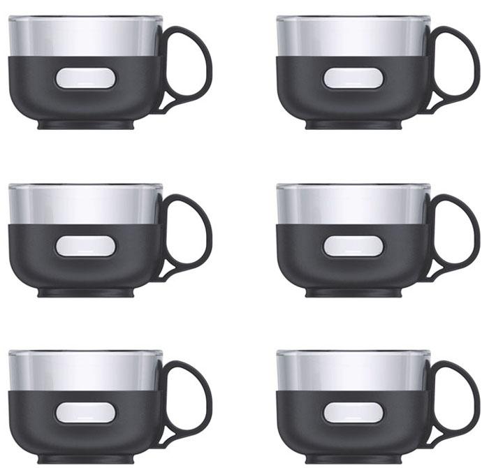 Набор чайный Veitron, 6 предметов. BLB-009BLB009Изысканные стеклянные чашечки для чайной церемонии. В наборе 6 чашек. Стекло выдерживает нагревание до 130 градусов. Объем одной чашки 150 мл. Упаковано в коробку.
