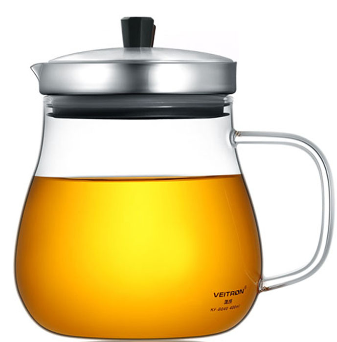 """Чайник заварочный """"Veitron"""", стеклянный, 600 мл"""