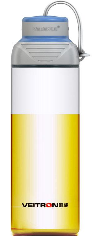 Бутылка Veitron, для фитнеса, стеклянная, в чехле, 600 млT60Емкость из боросиликатного стекла для путешествий, активного спорта и отдыха. Емкость вкладывается в эластичный чехол из термоизолирующего материала. Емкость выдерживает нагревание до 130 градусов. Не рекомендуется разогревать на плитах. Упаковано в коробку.