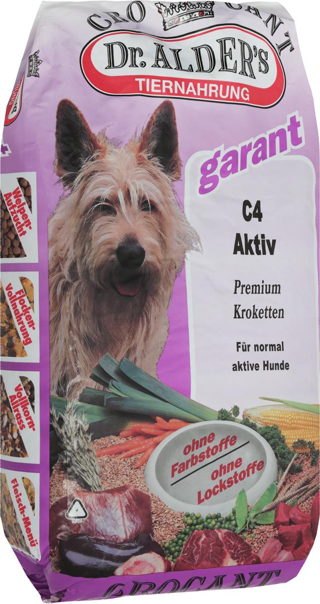 Корм сухой Dr. Alders С4. Актив для взрослых собак, 18 кг132Dr. Alders С4. Актив - это полнорационный корм на каждый день, предназначенный для кормления взрослых собак с нормальной активностью. Легкоусваиваемый сбалансированный корм полностью удовлетворяет потребности собаки в жизненно необходимых белках, жирах, минеральных веществах и витаминах. Корм способствует: Стабильной работе иммунной системы.Быстрому восстановлению после травм и перенесенных хирургических операций. Товар сертифицирован.