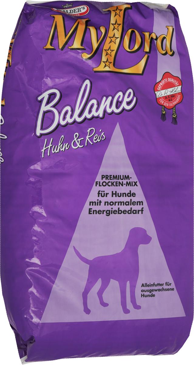 Корм сухой Dr. Alders My Lord. Balance для взрослых собак, 15 кг161Сухой корм Dr. Alders My Lord. Balance предназначен для взрослых собак с нормальной активностью. Он способствует поддержанию здоровья собаки и нормальному функционированию всех жизненно важных органов. Корм удовлетворяет все потребности собаки в жизненно необходимых белках, жирах, минеральных веществах и витаминах. Dr. Alders My Lord. Balance изготавливается из мяса птицы, риса и круп зерновых, обработанных под высоким давлением и поэтому очень полезен и легко усваивается.Товар сертифицирован.