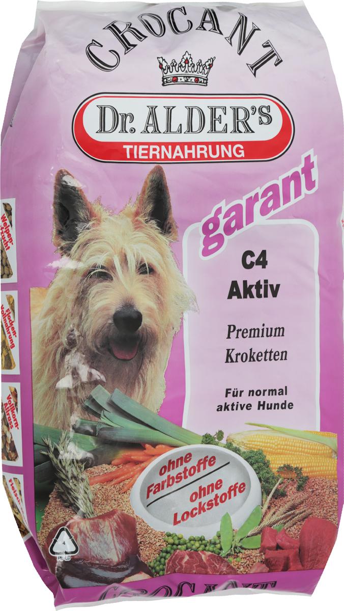 Корм сухой Dr. Alders С4. Актив для взрослых собак, 6 кг133Dr. Alders С4. Актив - это полнорационный корм на каждый день, предназначенный для кормления взрослых собак с нормальной активностью. Легкоусваиваемый сбалансированный корм полностью удовлетворяет потребности собаки в жизненно необходимых белках, жирах, минеральных веществах и витаминах. Корм способствует: Стабильной работе иммунной системы.Быстрому восстановлению после травм и перенесенных хирургических операций. Товар сертифицирован.