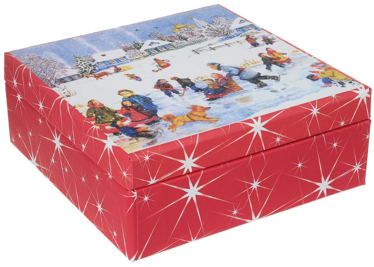 Упаковка подарочная Конфета-коробка. Авторская работа. ЕИ113ЕИ113Упаковка конфета-коробка, 6 ячеек.