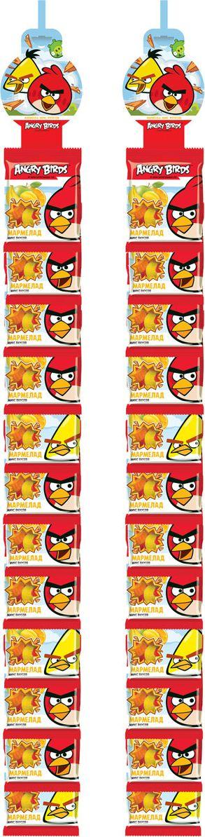 Конфитрейд Angry Birds мармелад жевательный, фруктовое ассорти, 24 шт по 25 г