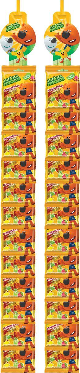Конфитрейд Ми-Ми-Мишки мармелад жевательный, фруктовое ассорти, 24 шт по 25 гУТ22416Мармелад жевательный, сердечки с разными вкусами.