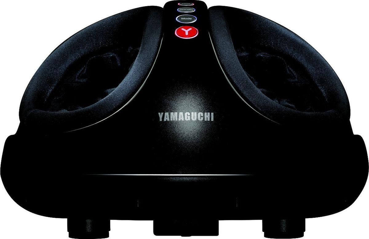 Массажер для ног Yamaguchi Hybrid (черный)195Массажер для ног Yamaguchi Hybrid - это полноценный массаж ног, включая роликовое и воздушно-компрессионное воздействие.Такое комбинированное воздействие на ваши стопы улучшиткровообращение в ногах, снимет отечность, а также тяжесть и усталость, которые так явно ощущаются к концу рабочего дняДизайн массажера не оставит вас равнодушным и подойдет к любому интерьеру.2 вида воздействия массажных роликов (возвратно-поступательное и вращательное движение)Воздушно-компрессионный массаж ногРоликовый разминающий массаж стоп2 автоматические программы массажаВозможность регулирования интенсивности массажного воздействияОпциональный прогревТаймер: 15 минутЛегко-очищаемые съемные чехлыПодходит для использования дома и в офисе