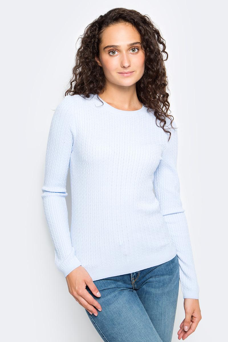 Джемпер женский Sela, цвет: пыльно-лавандовый. JR-114/1221-7390. Размер S (44) все цены