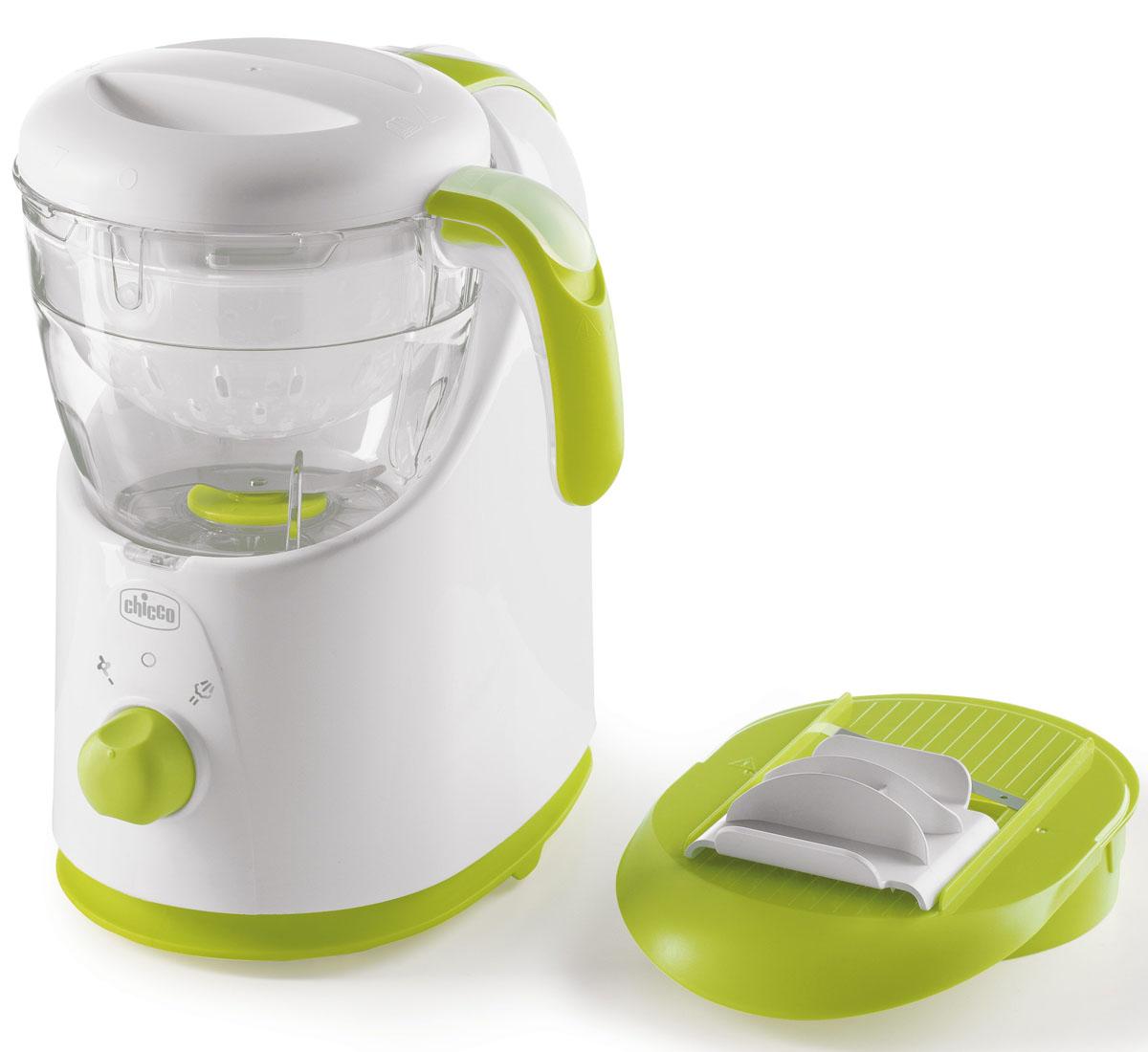 Chicco Пароварка-блендер 3 в1 Easy Meal - Все для детского кормления