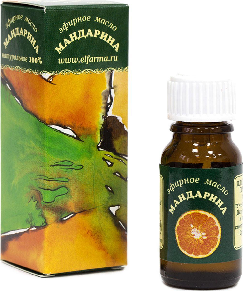 Elfarma Эфирное масло Мандарина, 10 мл00000001052Действует расслабляюще и антидепрессивно. В то же время – мобилизует.
