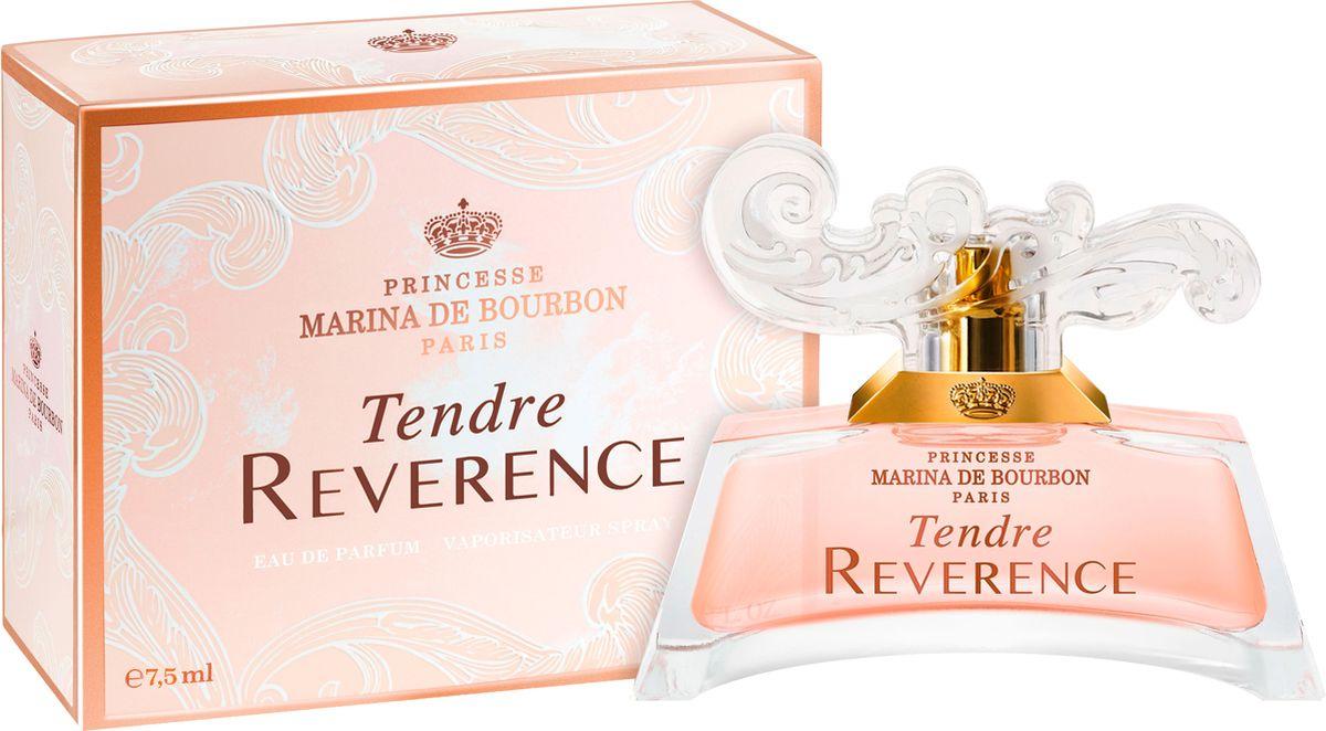 Princesse Marina De Bourbon Paris Tendre Reverence Миниатюра парфюмерная вода 7,5 мл marina de bourbon mon bouquet