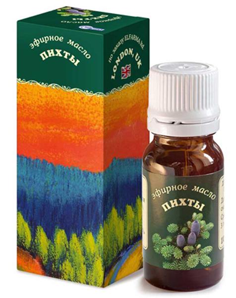 Elfarma Эфирное масло Пихты, 10 мл00000000982Широко применяется при заболеваниях верхних дыхательных путей. Ванны, массаж, ингаляции, ароматизация помещения.