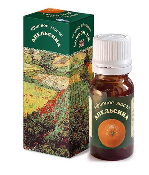 Elfarma Эфирное масло Апельсина, 10 мл00000001078Позитивное влияние на биоэнергетику. Психотерапевты рекомендуют при нервозности и недостатке самообладания.