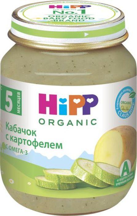 Фото Hipp пюре кабачок с картофелем, с 5 месяцев, 125 г
