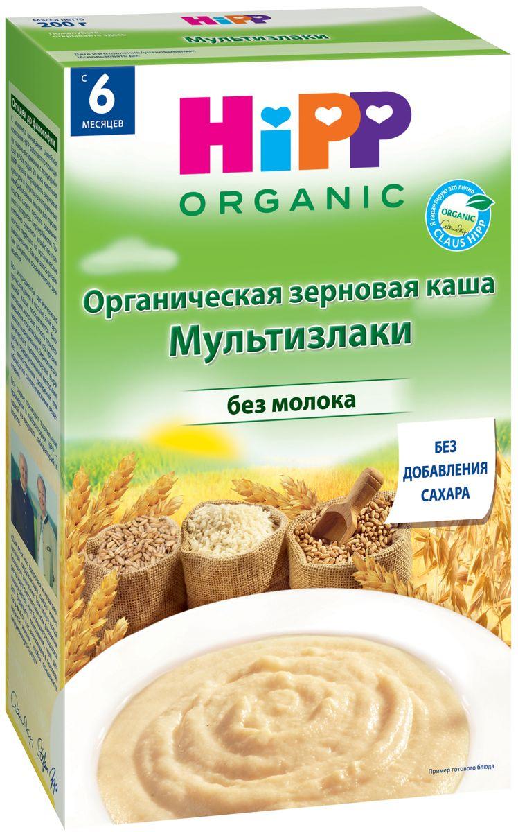 Hipp каша зерновая мультизлаки, с 6 месяцев, 200 г каши heinz безмолочная пшенично овсяная каша с фруктиками с 6 мес 200 г