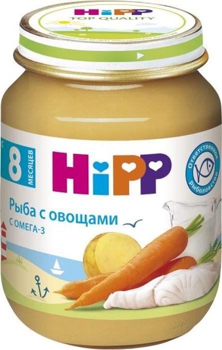 Hipp пюре рыба с овощами, с 8 месяцев, 125 г
