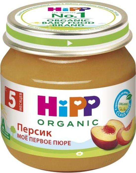 Hipp пюре персик, мое первое пюре, с 5 месяцев, 80 г9062300125020Персик является ценным источником растворимой клетчатки, регулирующей и улучшающей деятельность кишечника и подавляющей гнилостные процессы в пищеварительном тракте. Содержит органические кислоты, витамины С, группы В, калий, фосфор, железо, селен.Удобный и экономичный объем.