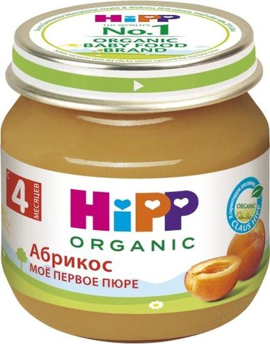 Hipp пюре абрикосы, мое первое пюре, с 4 месяцев, 80 г hipp пюре hipp моё первое пюре яблоко с 4 мес 80 г