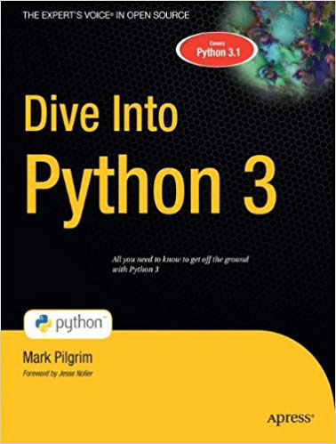 Dive into Python 3 python绝技:运用python成为顶级黑客