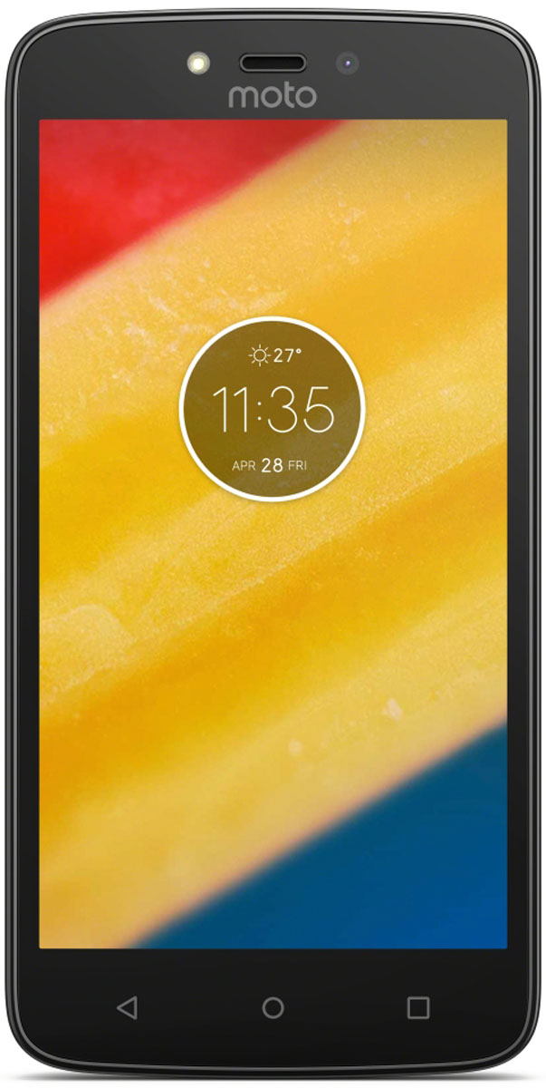 Motorola Moto C Plus, Black (XT1723)