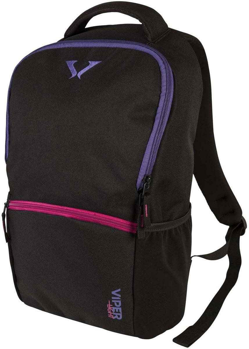 """Target Collection Рюкзак Black F.V. 216230У рюкзака обтекаемая форма, он очень легкий и тонкий. Имеет одно большоеосновное отделение вмещаемое ноутбук до 15"""", также есть отделение под формат A4. Застегивается на молнию. Имеются дополнительные боковые карманы. Главное отличие – наличие ремней для крепления скейтборда и лыж. Вмещает 26 литров.Размер: 48 ? 29 ? 13см.Объем: 18 л."""