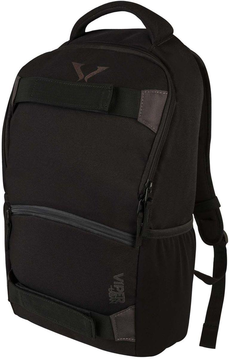 """Target Collection Рюкзак Black Br.16236У рюкзака одно большое отделение вмещаемое ноутбук до 15"""". Застегивается на молнию. Имеются два боковых кармана. Размер:48 ? 29 ? 13см.Объем: 18 л."""