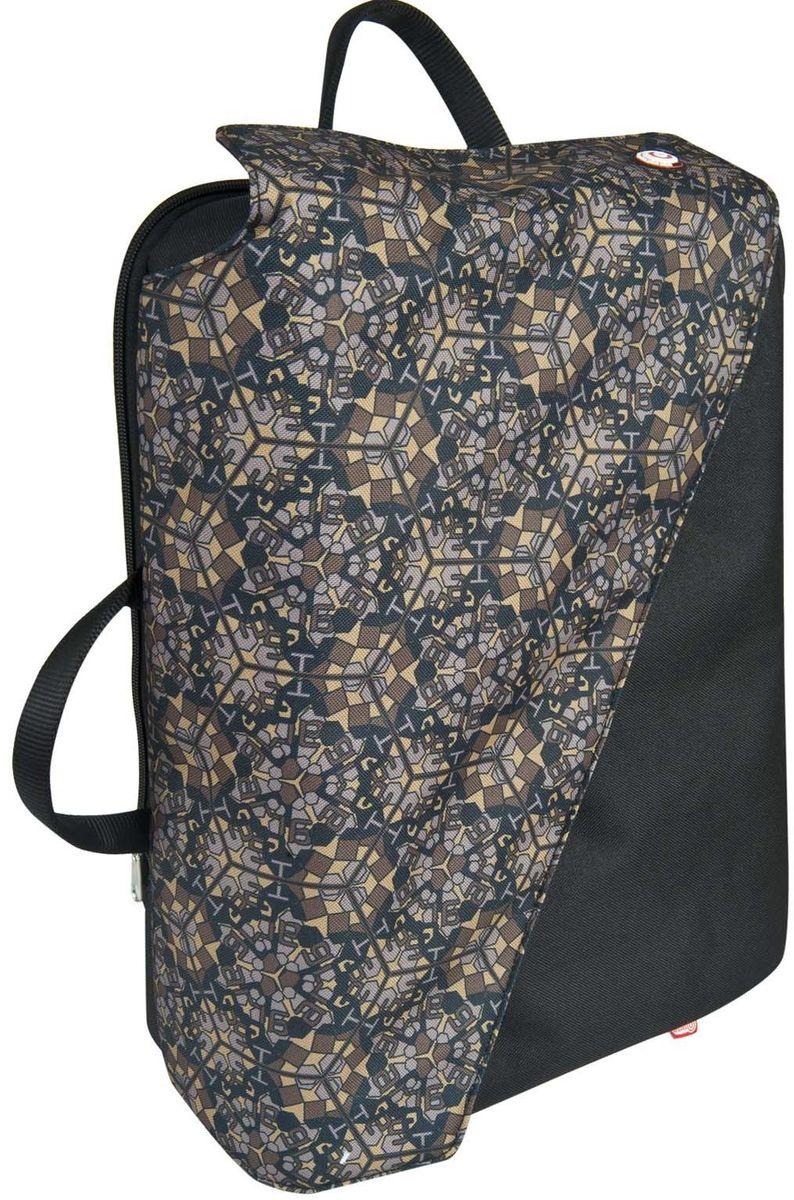 Target Collection Сумка-рюкзак Kaleido Camu 423820Выполняет функцию 3 в 1 (рюкзак, сумка, портфель). Имеется делитель для ноутбука 16 дюймов и 2 сетчатых кармана для аксессуаров. Вмещает 10 литров. Размер: 31 ? 41 ? 16 см.