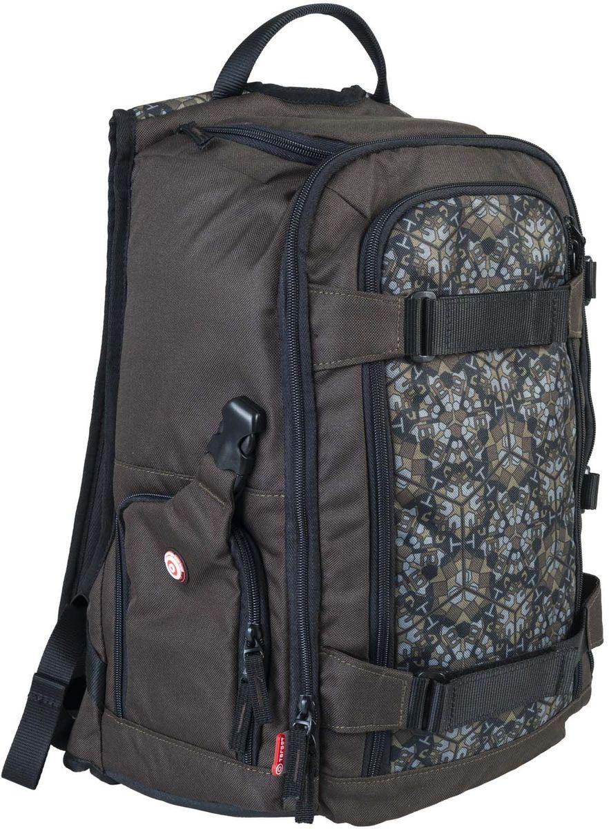 Target Collection Рюкзак для фотоаппарата Kaleido Camu 323934Рюкзак создан, чтобы удовлетворить ваши повседневные потребности защитить ваши камеры, объективы и вспышку. Этот рюкзак имеет верхний отсек для профессионального фотоаппарата ,два наружных кармана для быстрого доступа, чтобы захватить камеру в одно мгновение, отдельный карман под ноутбук, универсальные передние и боковые ремешки для штатива, 3 сетчатых кармана для аксессуаров. Вмещает 40 литров. Размер: 48 ? 33 ? 26 см.