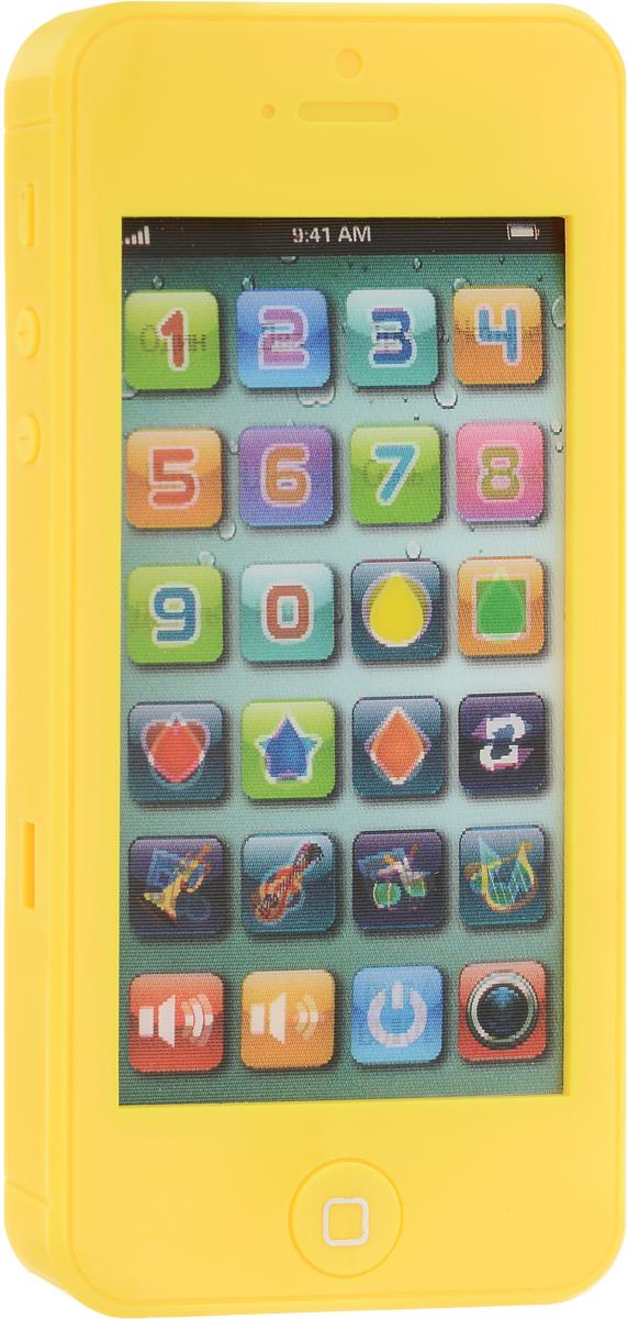 TopToys Игрушечный мобильный телефон цвет желтый телефон