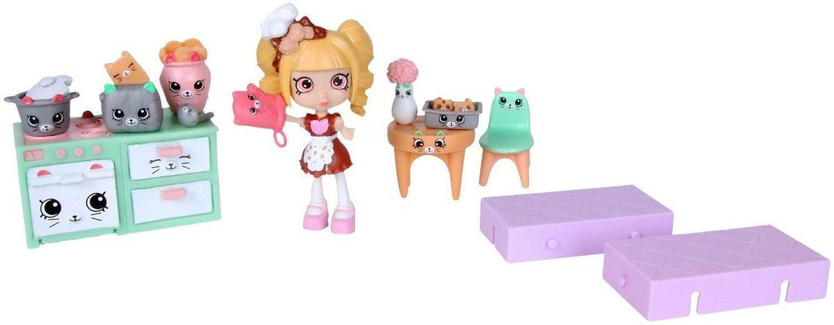 Shopkins Игровой набор Новоселье Кухня с котятами игровые наборы shopkins игровой набор веселая кухня