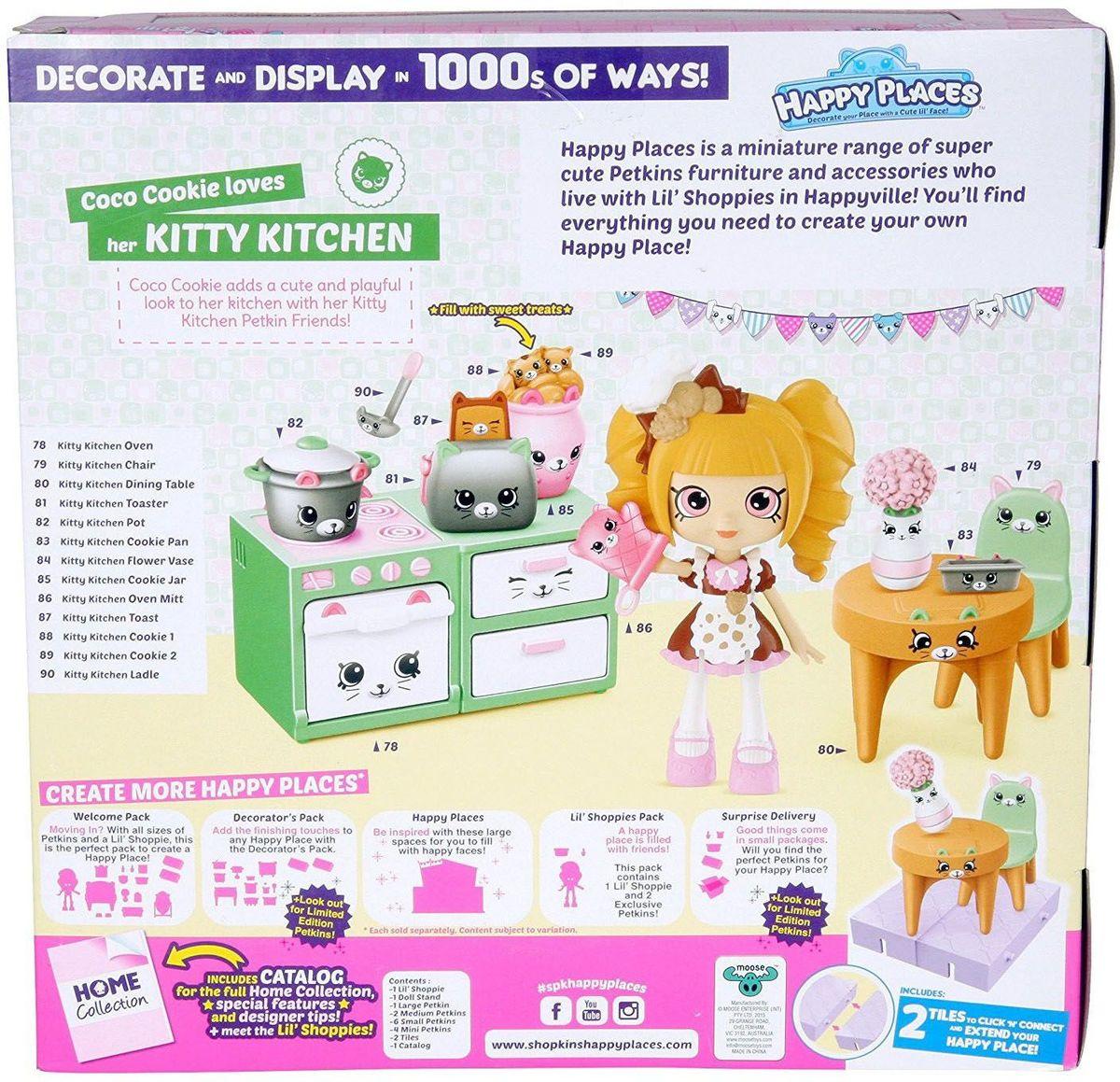 ShopkinsИгровой набор Новоселье Кухня с котятами