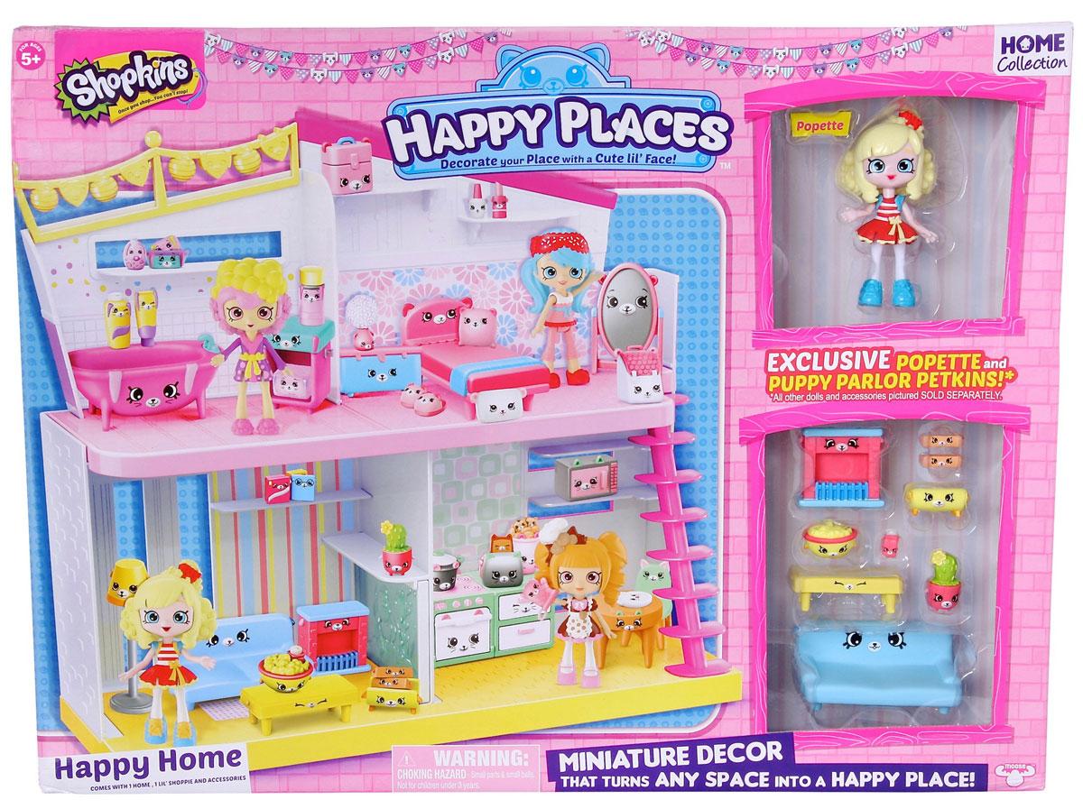 ShopkinsИгровой набор с куклой Уютный дом