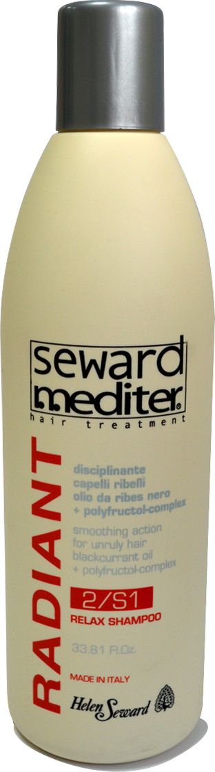Helen Seward Relax Shampoo 2/S1 Шампунь для жестких и кудрявых волос, 1000 мл0254Шампунь для жёстких и кудрявых волос Helen Seward обеспечивает щадящий эффективный уход для кудрявых волос, возвращая даже самым жестким волосам природную эластичность и мягкость. Разглаживающий и смягчающий эффект достигается за счет масла черной смородины и полифруктовому комплексу. Шампунь тщательно очищает загрязнения, придавая волосам здоровый интенсивный блеск и ухоженный вид. Уже после первого использования средства, вы отметите простоту укладки вьющихся волос, выразительность локонов.