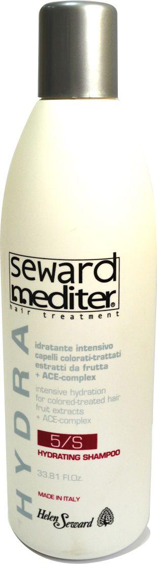 Helen Seward Hydrating Shampoo 5/S Увлажняющий шампунь для окрашенных и сухих волос, 1000 мл0525Глубоко увлажняющий шампунь, разработанный специально для окрашенных волос с поврежденной структурой, а также волос, которые подвергались химическому воздействию: завивке, выпрямлению.