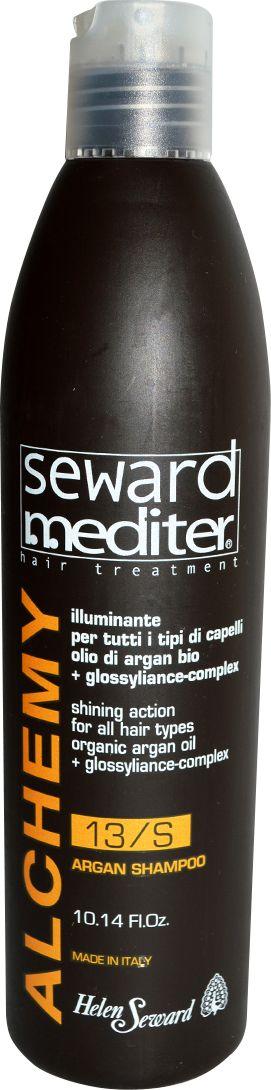 Helen Seward Alchemy Shampoo 13/S Аргановый шампунь для всех типов волос, 300 мл helen seward removing shampoo 12 s мужской шампунь против перхоти и шелушения 1000 мл