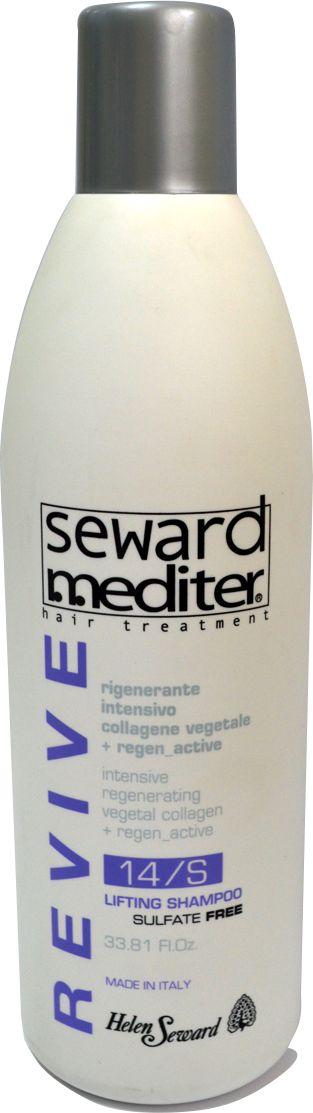 Helen Seward Revive Lifting Shampoo Интенсивный регенерирующий шампунь, 1000 мл1401Профессиональная формула БЕЗ СУЛЬФАТОВ и агрессивных солей обеспечивает ультраделикатное очищение, создает мягкую и обильную пену, делает процесс мытья очень приятным. Этот шампунь, обогащенный растительным коллагеном с увлажняющим действием, а также компонентом Regen_Active с восстанавливающим эффектом, хорошо подготавливает волосы к LIFTING SERUM 14/L.