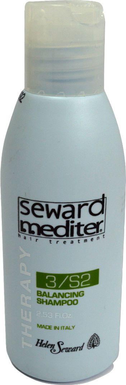 Helen Seward Balancing Shampoo 3/S2 Себорегулирующий шампунь для жирной кожи головы и сухих волос, 75 мл средства для волос