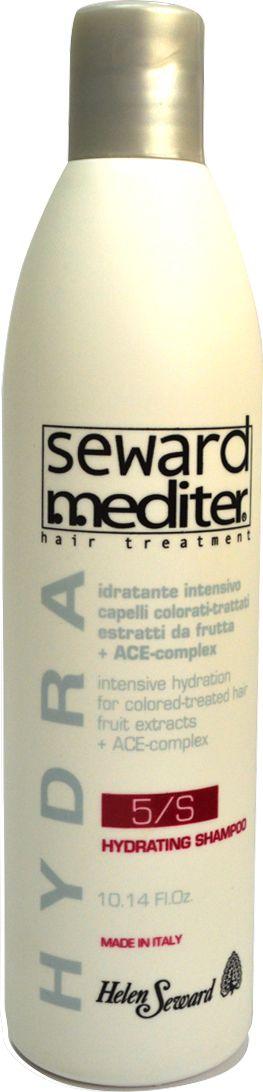 Helen Seward Hydrating Shampoo 5/S Увлажняющий шампунь для окрашенных и сухих волос, 300 мл525Глубоко увлажняющий шампунь, разработанный специально для окрашенных волос с поврежденной структурой, а также волос, которые подвергались химическому воздействию: завивке, выпрямлению.