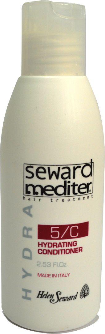 Helen Seward Hydrating Conditioner 5/C Увлажняющий кондиционер для сухих и окрашенных волос, 75 мл5270Увлажняющий кондиционер для волос Helen Seward Hydrating Conditioner 5/C, в состав которого входит полифруктовый комплекс, предназначен для ухода за сухими, поврежденными и подверженными химическому окрашиванию волосами. Это средство из линейки Mediter будет увлажнять ваши волосы при каждом применении. За счет сбалансированной активной формулы, куда входят сок лимона, дыни, апельсина, витаминный комплекс, обеспечивается сохранение пигмента натуральных и окрашенных волос, защита от негативного воздействия окружающей среды, в том числе ультрафиолета.