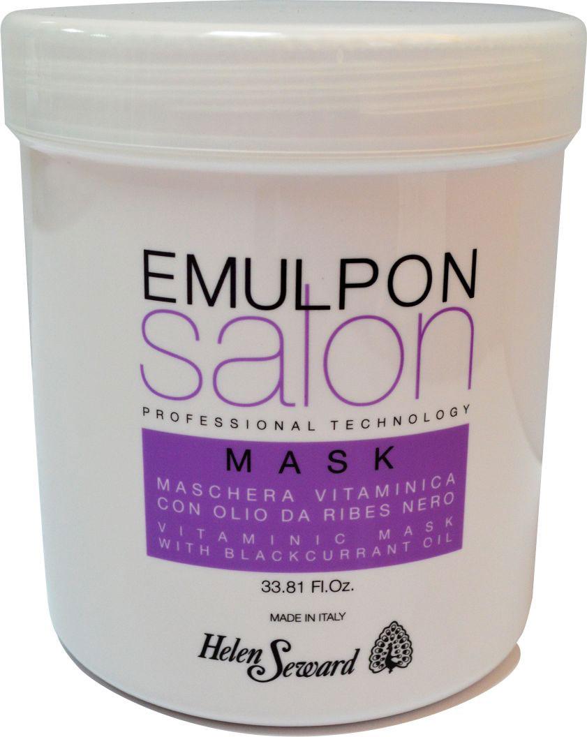 Helen Seward Emulpon Salon Vitaminic Mask Витаминизирующая маска, 1000 мл8410Осуществляет глубокое увлажняющее действие, оказывая немедленный распутывающий и антистатический эффект. Подходит для окрашенных и обработанных волос.Мгновенно восстанавливает блеск и мягкость при одновременном повышении объема, стойкости и эластичности волос.